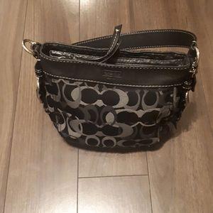 Coach signature hand/ shoulder bag